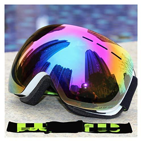 Exterior Gafas de esquí para Hombres y Mujeres Invierno Anti-Niebla Gafas de esquí UV400 Gafas de esquí para Hombres, Mujeres y jóvenes (Color : C)