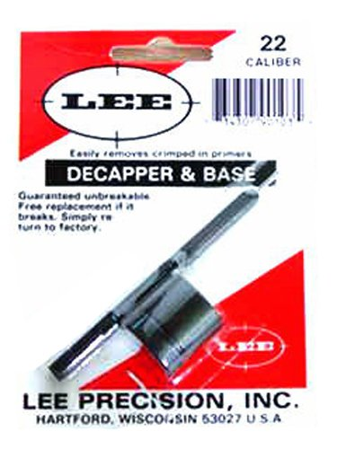 LEE PRECISION 22 Decapper and Base