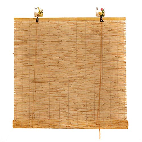 HWJ Persiana de caña Naturales, sombrilla Transpirable a Prueba de Polvo, para Cubierta de Pasillo de glorieta (150×250 cm/150×200 cm/120×200 cm)