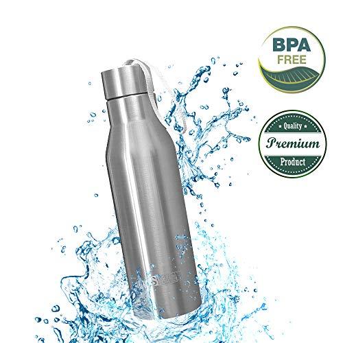 centtechi Bottiglia Termica Acciaio Inox,720ml 24 Ore Freddo 24 Ore Caldo Borraccia di Acqua Inossidabile BPA Vacuum Tazza per Viaggi, Campeggio o Sport,Ufficio, All'aperto, Cucina,Outdoor(25oz)