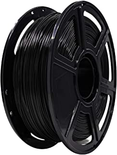 Flashforge PLA 1.75mm 3D Printer Filaments 1kg Spool-Dimensional Accuracy +/- 0.05mm for Finder and Creator Pro (Black)