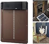 Puerta automática para gallinero,Puerta Impermeable para gallinero,Puerta Automática para Gallinero con Temporizador Y Sensor De Luz,Kit Abrepuertas Gallinero