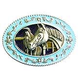 Marcas de caballo de silla Western - hebilla de cinturón-