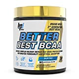 BPI Sports Better Best BCAA - BCAA Powder - All-in-One Amino Acids, Citrulline & MCT - Pre Workout for Lean Muscle Building, Muscle Recovery & Metabolism - 30 Servings 11.64 oz. (Blue Raz)