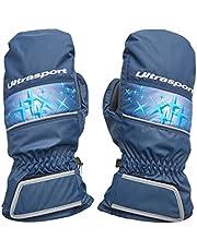 Ultrasport Basic Starflake Guantes para niños con una Gran Libertad de Movimientos, Impermeables y Resistentes al Viento, para Edades Entre 10 y 12 años