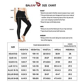 Women's Ankle Legging Athletic Yoga  | BALEAF