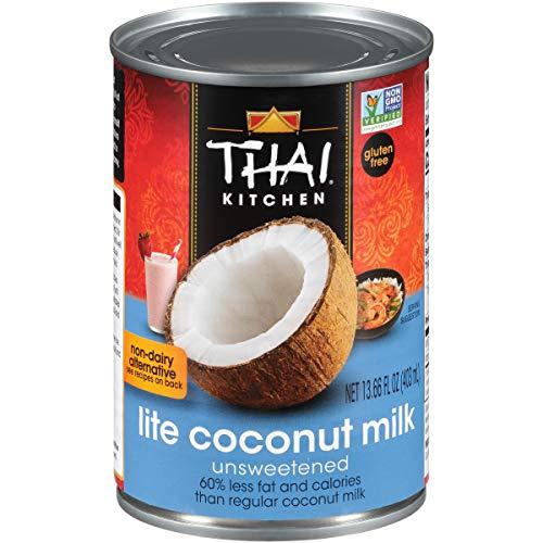 Thai Kitchen Gluten Free Lite Coconut Milk, 13.66 fl oz, 12 count