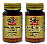 ARANDANO ROJO extracto seco 200 mg. (Pack 2 u.)