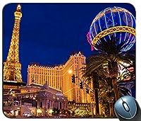 Las Vegas Lightsマウスパッド滑り止めデスクトップマウスパッドゲーミングマウスパッド