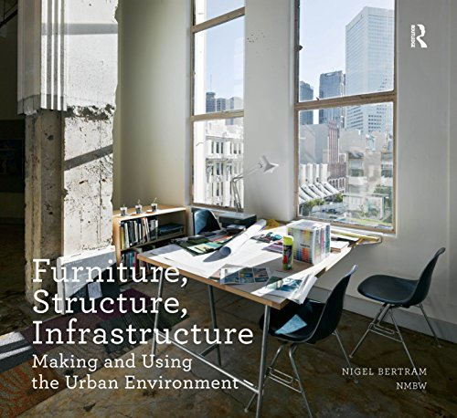 Furniture, Structure, Infrastructure: Making and Using the Urban Environment (Design Research in Architecture) (English Edition)