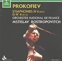 Prokofiev: Symphony No. 4 Op. 47 & Op. 112 (1992-03-10)