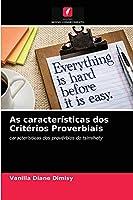 As características dos Critérios Proverbiais: características dos provérbios do tsimihety