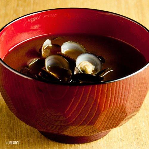 【送料込】宍道湖産大和しじみ 即席 赤だし お味噌汁<レトルト・15食・調味みそ>(CA15)