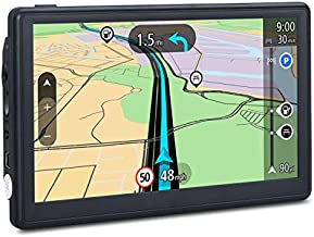 GPS Navigation for Car, 7 inches 8GB Lifetime Map Update Spoken Turn-to-Turn Navigation System for Cars, Vehicle GPS Navigator Lifetime Maps Update