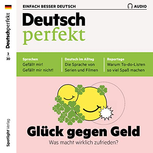 Deutsch perfekt Audio 2/2020 cover art