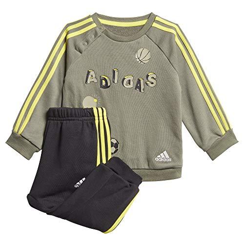 adidas Kinder I Graph Jog FT Sportoutfit, Verleg/Verleg/Amasho, 98 (2/3 años)
