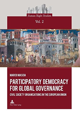 Participatory Democracy for Global Governance: Civil Society Organisations in the European Union
