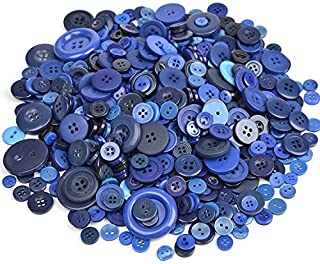 royal blue buttons