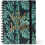 Legami A5NOTS0018 - Cuaderno con espiral, hoja blanca, A5, Jungle