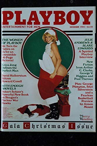 PLAYBOY US 1982 12 DECEMBER STARS 82 LOUISE BRYANT CHARLOTTE KEMP INTERVIEW JULIE ANDREWS AND BLAKE EDWARDS