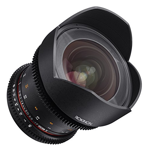Rokinon Cine DS DS14M-MFT 14mm T3.1 ED AS IF UMC Full Frame Cine Wide Angle Lens for Olympus and Panasonic...