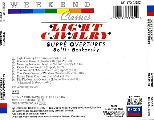 Light Cavalry - Suppe Overtures