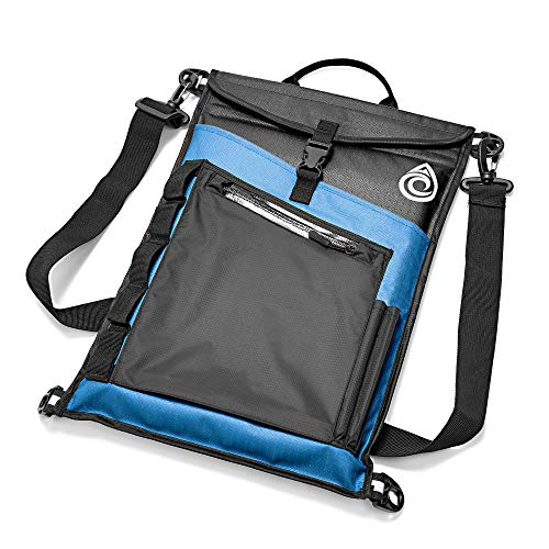 Aqua Quest Storm Laptop Sleeve - 100% Waterproof, Lightweight, Durable, Padded Case - Protective Computer Pouch Cover Bag - 15 inch - Blue