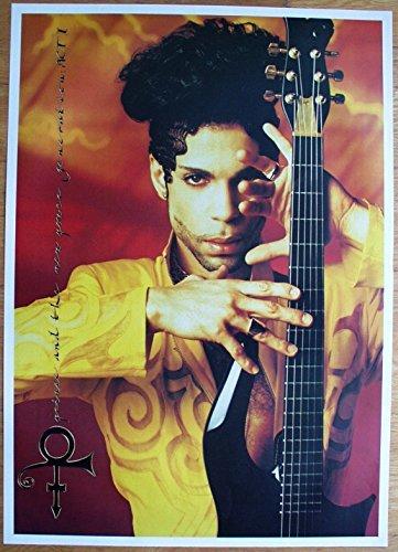 Prince Poster Nr. 4 Format 62 x 86 cm Original von 1990