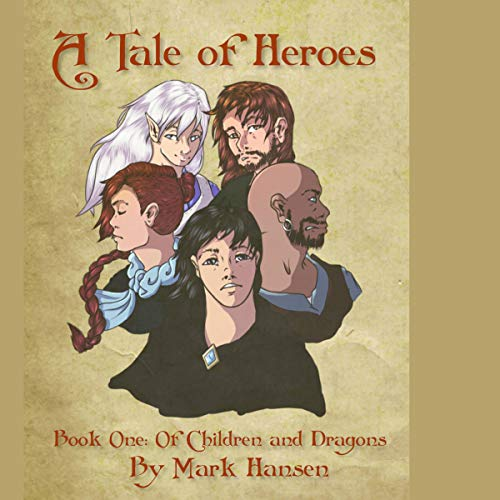 A Tale of Heroes audiobook cover art