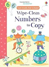 Wipe-Clean Numbers to Copy (Get Ready for School Wipe-Clean Books)