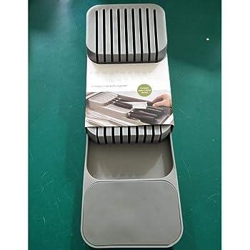puede almacenar la cuchara//tenedor Caja de almacenamiento para caj/ón de cocina organizador de almacenamiento de vajilla de divisor de caj/ón XiBao