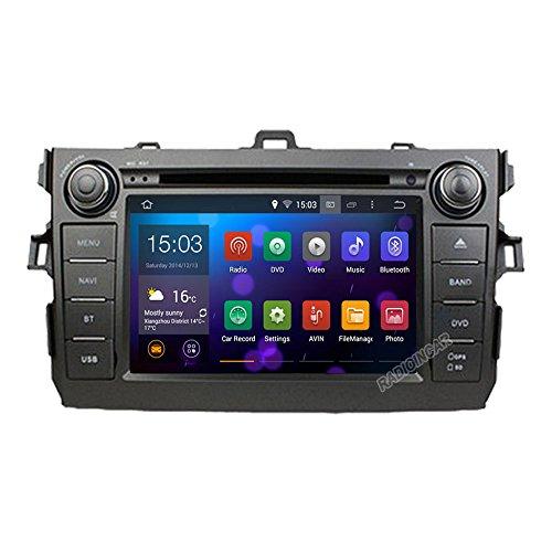 witson® 1024* 600Android 4.4HD Autoradio für Toyota Corolla 200620072008200920102011Auto DVD GPS Navigation Auto Teil Audio Video Stereo DVD für die 3G Wifi RDS Bluetooth