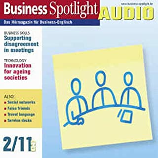 Business Spotlight Audio - Supporting disagreement in meetings. 2/2011 Titelbild
