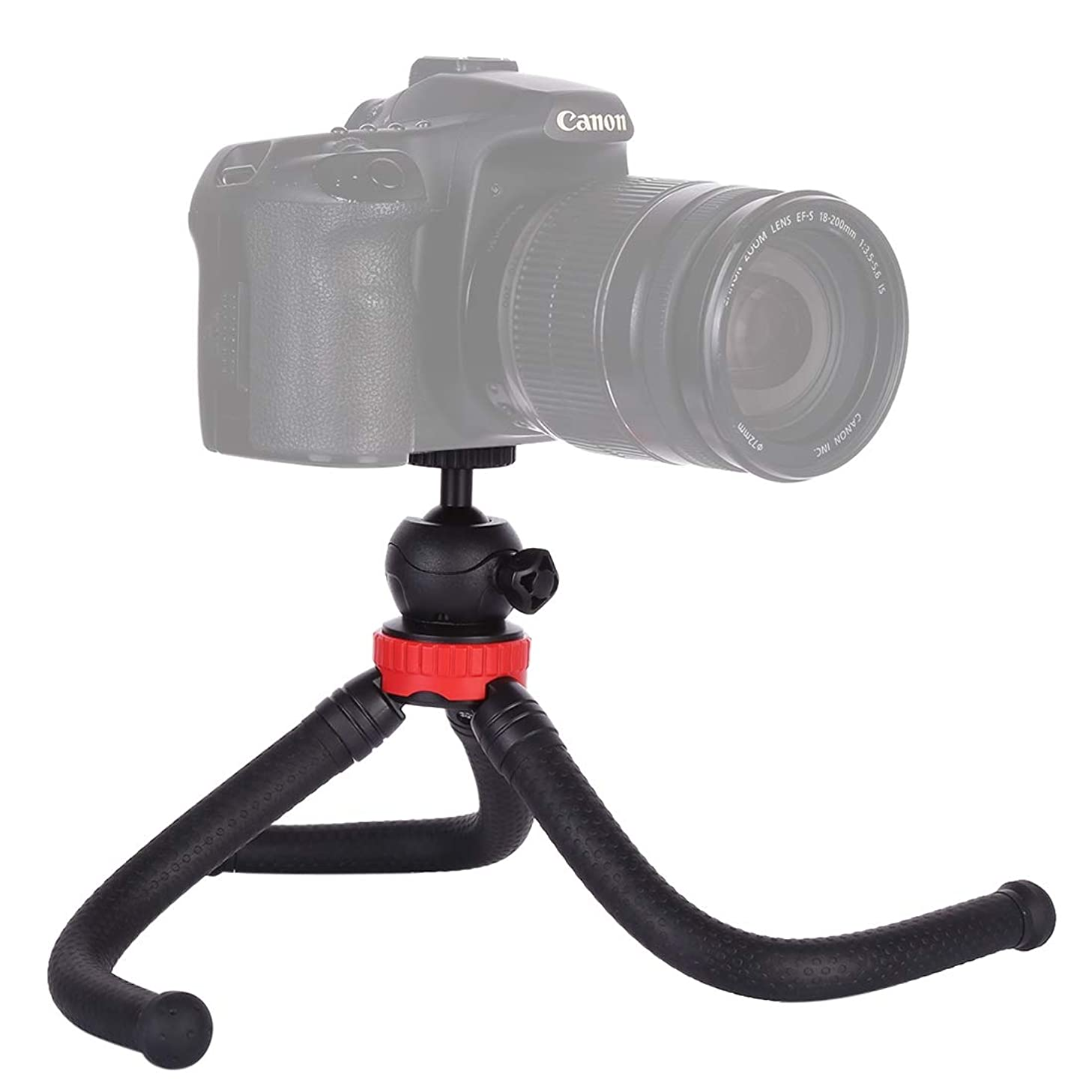 for DJI Gopro Action Camera, MZ305 Mini Octopus Flexible Tripod Holder with Ball Head for SLR Cameras, GoPro, Cellphone, Size:30cmx5cm
