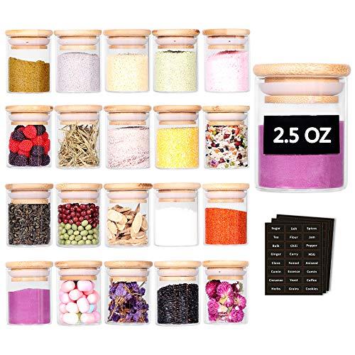 Minimalist Spice Jars