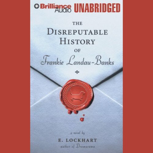 The Disreputable History of Frankie Landau-Banks audiobook cover art