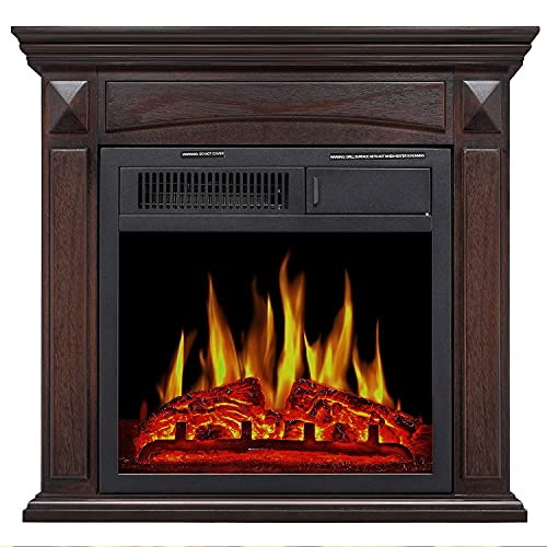 Antartic Star Mantel Electric Fireplace,...