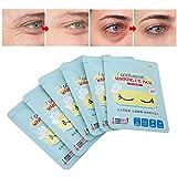 7 mascarillas calientes para los ojos, para eliminar calentitos y aliviar la fatiga del sueño, antifaz para dormir, antifaz para los ojos [lavanda]