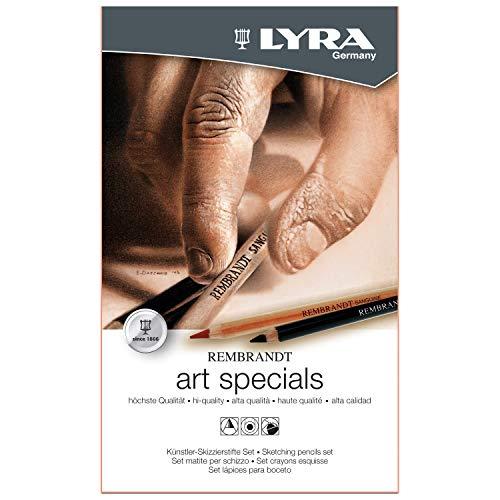 Lyra 2051120 Rembrandt kunstspecials schetsen potloden set, mix