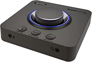Creative Sound Blaster X4 Hi-Res 24bit/192kHz External USB DAC and Amp Sound Card, Super X-Fi, Multi-Channel, 7.1 Discrete...