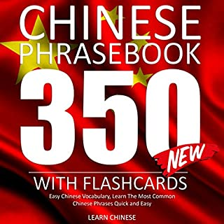 Chinese Phrase Book audiobook cover art