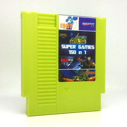 150 in 1 NES Super Games Multi Cart 72 Pin - SOLID GREEN