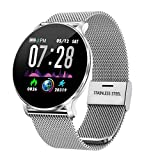 TagoBee TB11 Orologi Touch IP68 Impermeabile Salute Watch Bluetooth Trackers Fitness Compatibile con...