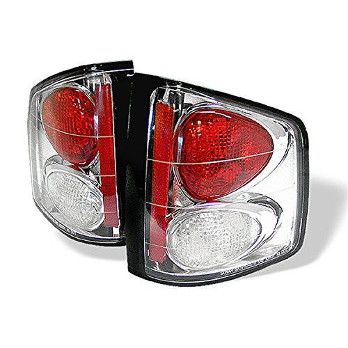 Spyder Auto 5001894 Euro Style Tail Lights Chrome/Clear