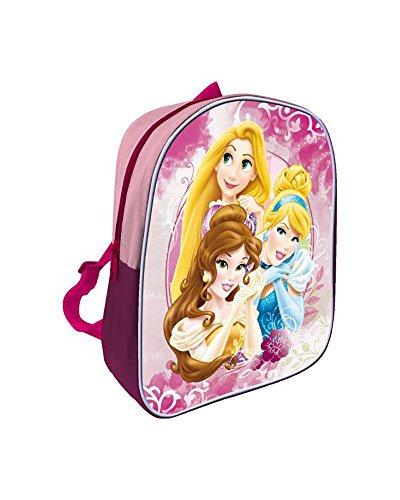 Disney- Sac à Dos-Princesses, AST1148, 28 cm