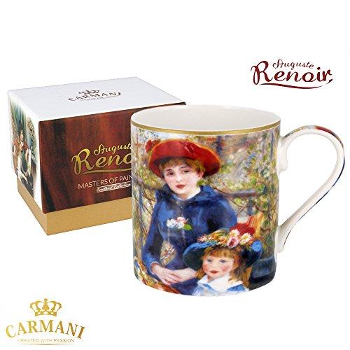 Carmani - Tazza classico decorato con Renoir