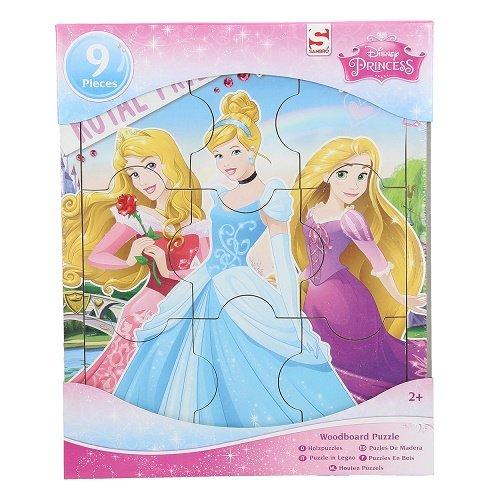 Sambro Princesse Simple Planche en Bois Puzzle