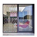S2F5 - Kit de cortina de PVC transparente a prueba de polvo y viento, para puerta de personal, cuarto de congelador, 19 tamaños, transparente, 7pcs 1.05x2.0m