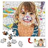 Amlion Puzzle Personalizzato con Foto 1000 500 300 Pezzi Adulti,Foto Puzzle Personalizzati,Idea Regalo Personalizzata,Crea i Tuoi Puzzle con la Tua Immagine Preferita