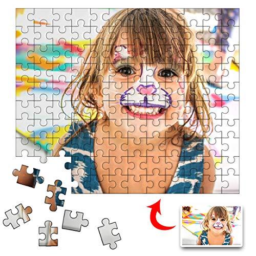 Amlion Rompecabezas de Fotos Personalizados 1000 500 300 Piezas para Adultos,Rompecabezas Personalizable con tu Propia Foto